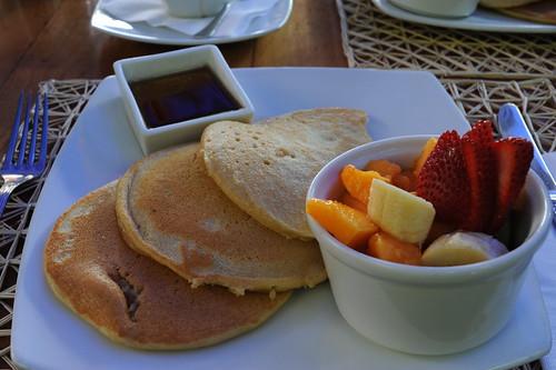 サンタ・クルスでの朝食