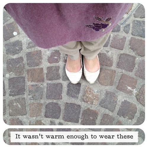 #shoes #feet #brickpath