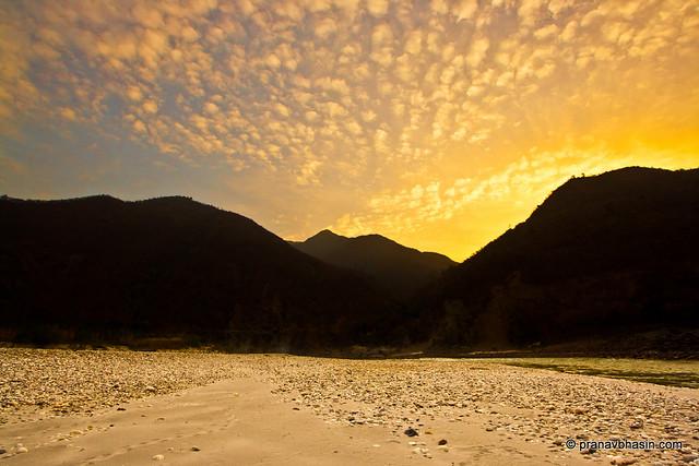 Sunrise By The Ganges by Pranav Bhasin