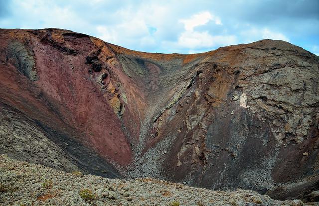 Parque Nacional de Timanfaya. Las Montañas de Fuego. Isla de Lanzarote. Islas Canarias.