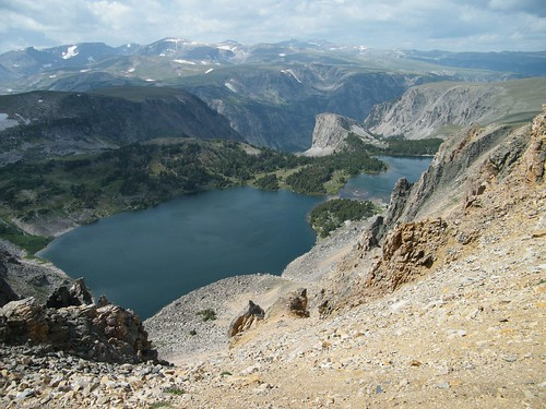 Lakes from Beartooth Pass, Yellowstone National Park, Wyoming/Montana