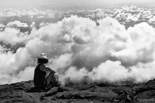 voyage france montagne canon photography photo noiretblanc ciel chapeau nuage paysage onair laréunion rêve jeunefille 600d makipix 18mpix