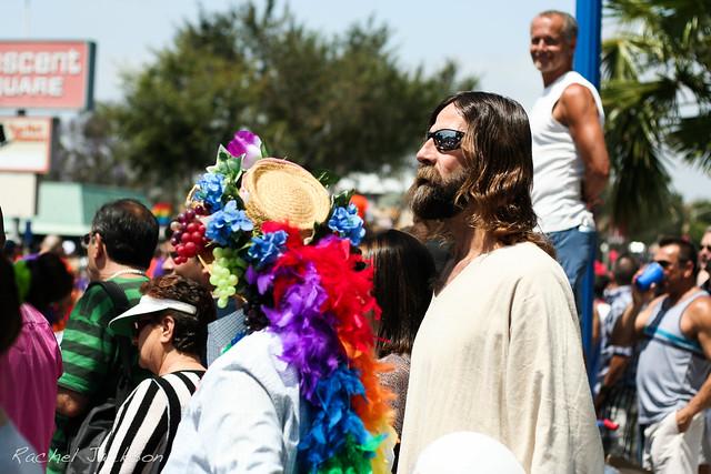 Hollywood Jesus LA Pride 2012