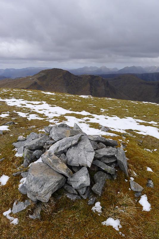 Lurg Mhor's eastern top