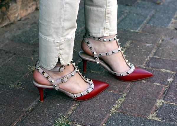 בלוג אופנה, ולנטינו, valentino rockstud pumps, isaeli fashion blog, נעלי ולנטינו