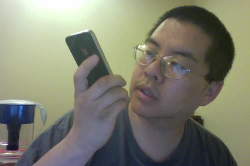 Talking to phone
