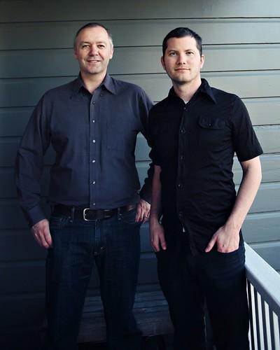PeerJ Founders Peter Binfield and Jason Hoyt