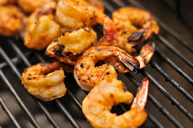 Garlic-Lime Shrimp