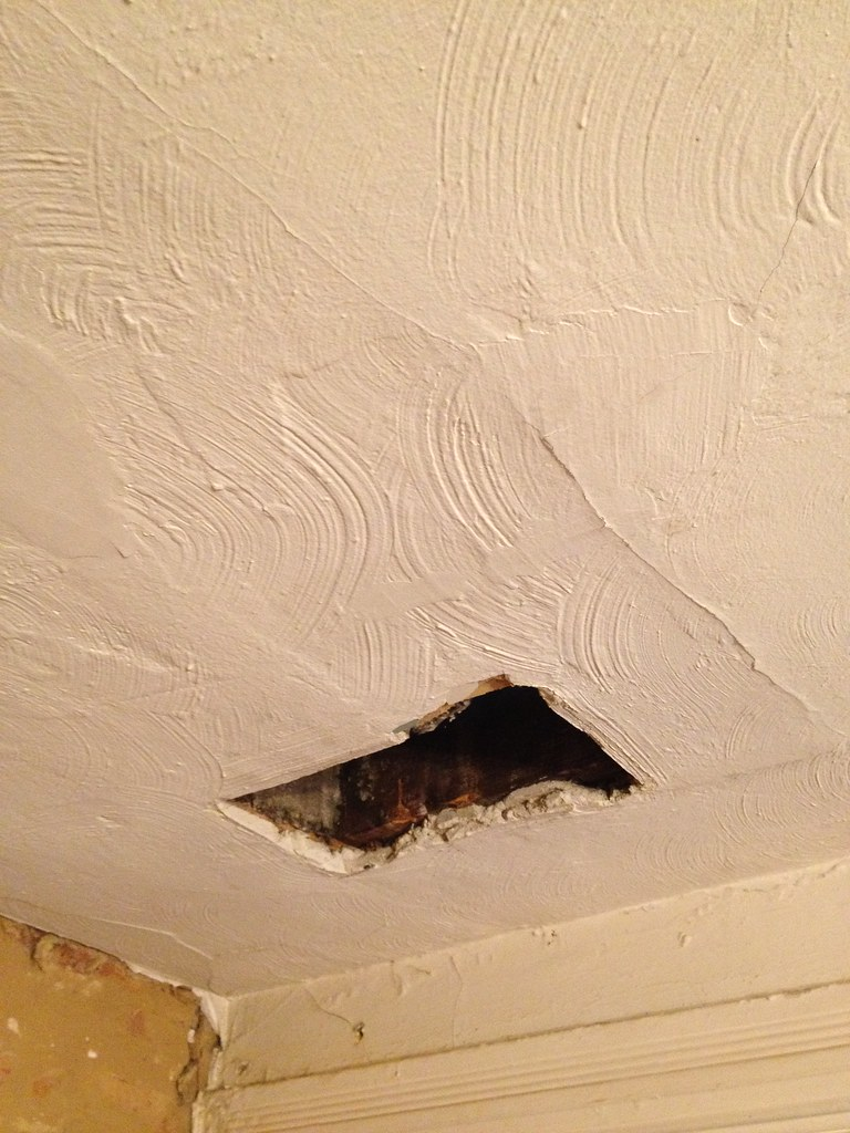 Plaster Repair for DIYers No Need to Rip It Out Old Town Home