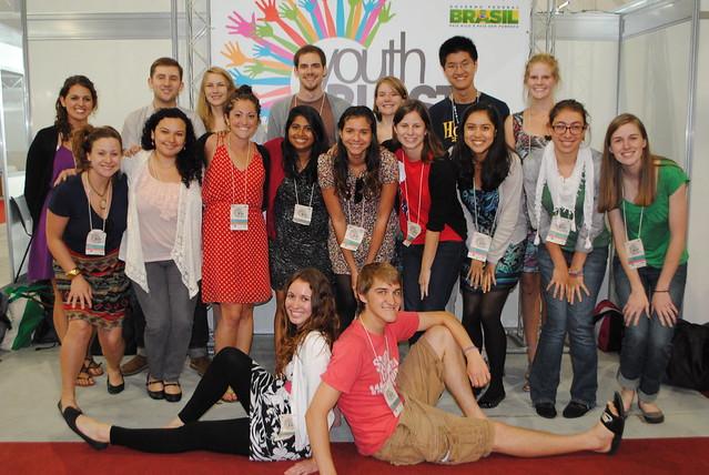 SustainUS Rio+20 delegation