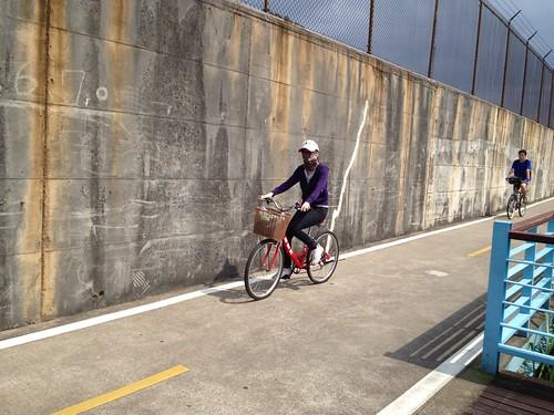 關渡-淡水自行車遊