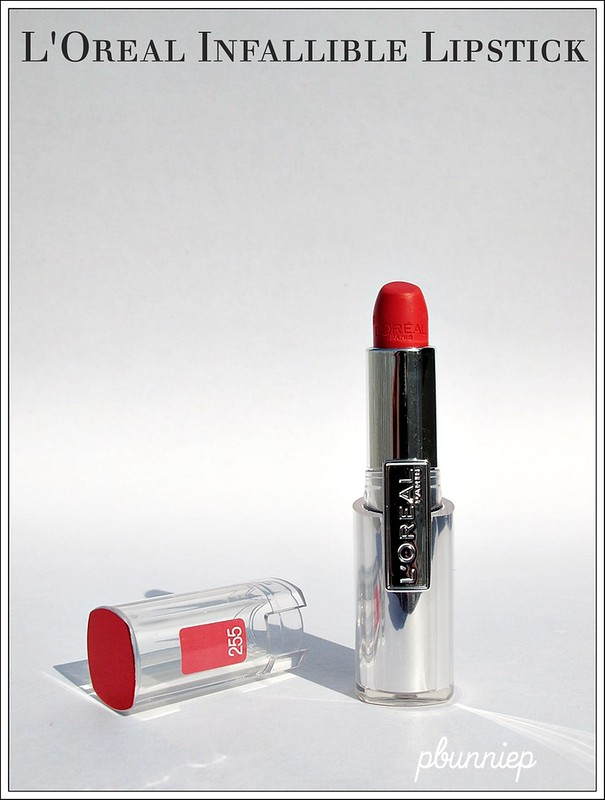 L'Oreal Infallible lipstick_02