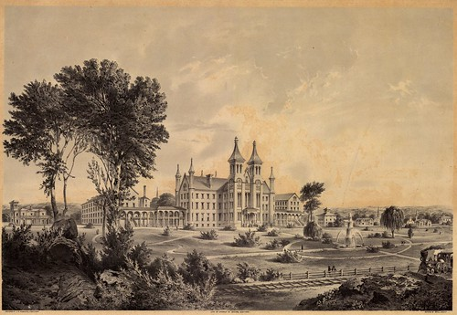 ohio print 1850s yellowsprings greenecounty ohioartthrough1865