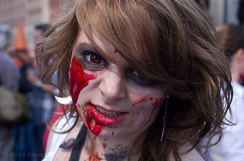 Boston Zombie March VIII - Lovely red eyes