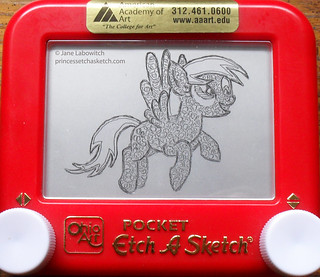 Derpy etch a sketch