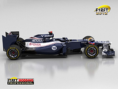 [rFactor] F1RFT 2012 Williams Rendering Side