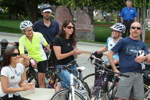 SNTD 2012 Mayor's Leadership Community Ride