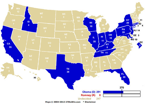 Big East electoral map