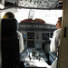 Cockpit open when I got on our second flight :). LACSA Air San Salvador to Toronto :) 09MAY12