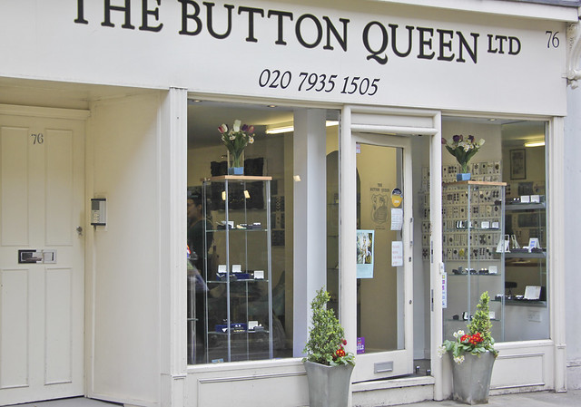 Marylebone Lane - button shop