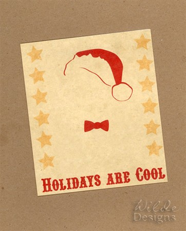 Holidays are Cool card