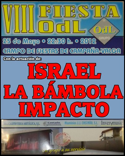 Festa anual Talleres OdL - cartel