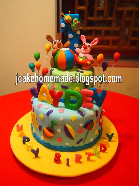 Baby TV birthday cake  Happy 1st birthday Jayden. Thanks Ai ...