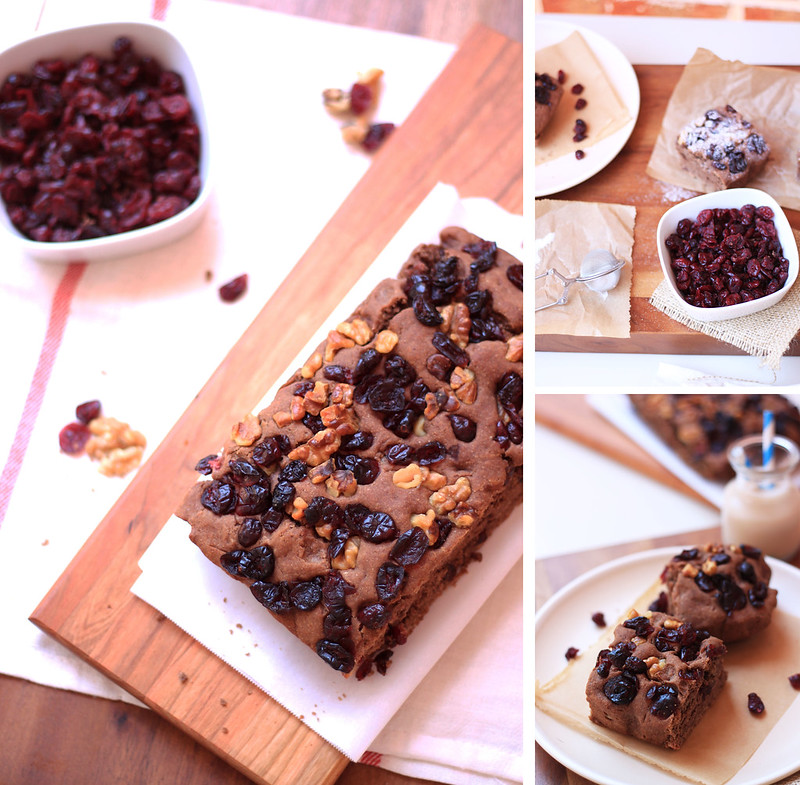 Come enjoy the Chocolate Cranberry & Walnut Focaccia