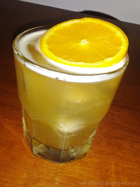 Homemade Whiskey Sour