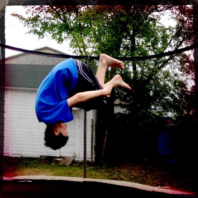 flips games trampoline