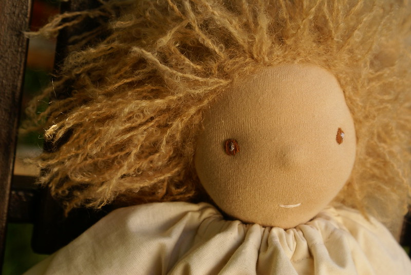 """a soulful spirit"" organic fairtrade waldorf doll"