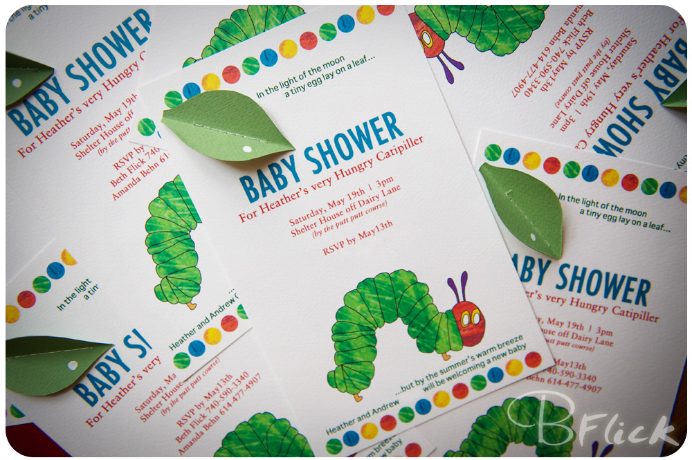 Very Hungry Caterpillar Baby Shower Invitations for amazing invitation ideas