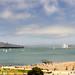USS Nimitz in San Francisco Bay by morozgrafix