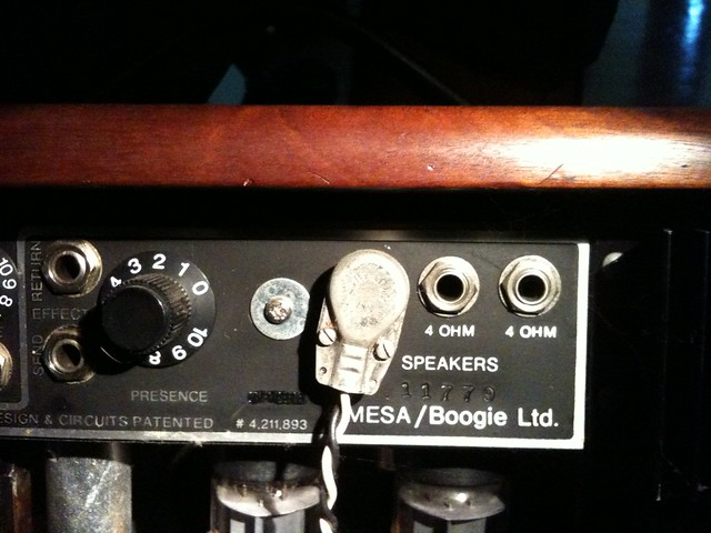 dating mesa boogie serial numbers This page is a general description and help to identify the different dual rectifier 2  on the front there is a small mesa logo on  serial loop for.