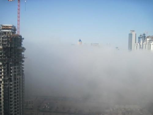 Dubai Fog 05-31-2012