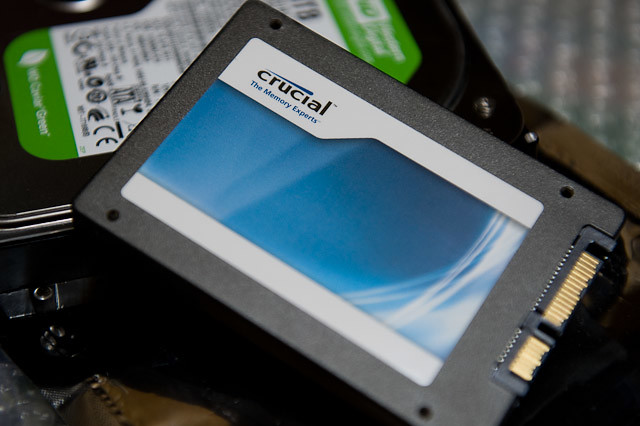PC近代化改修 システムドライブSSD化