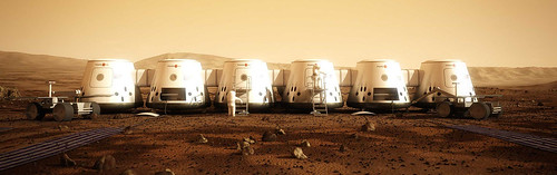 Mars one project first human colony on mars