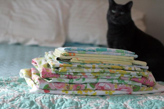 June Challenge | Vintage Sheets