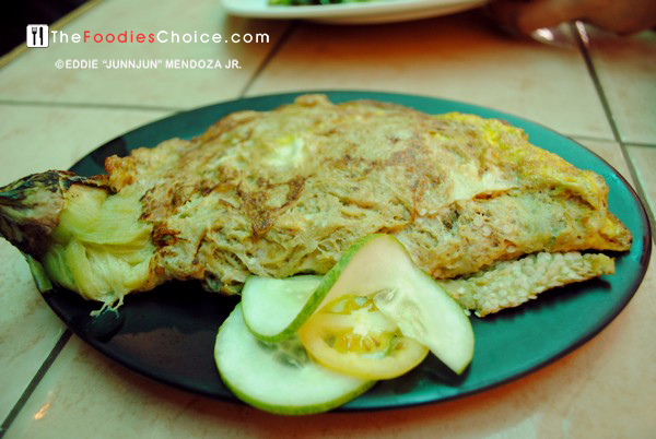 Tortang Talong at Smoke Resto Boracay