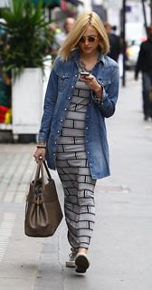Fearne Cotton Denim Shirt Celebrity Style Woman's Fashion