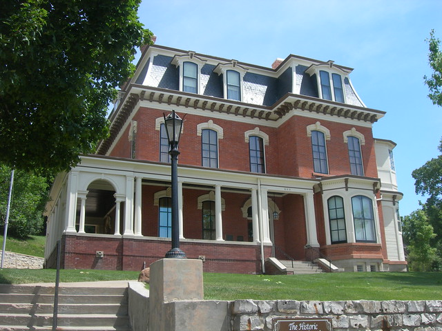 General Dodge House Council Bluffs Iowa Constructed In