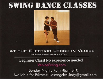 Swing Dancing Venice Beach