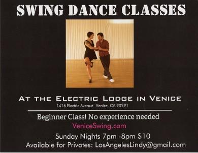 Swing Dancing Venice Beach
