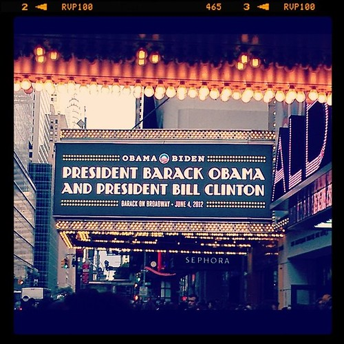 Barack on Bway