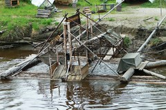 Fish wheel, for catching and trapping fish