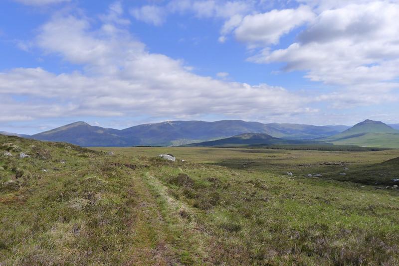 Creag Meagaidh above Glen Spean