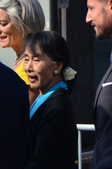 7380893786 d119965344 m Aung San Suu Kyi in Oslo