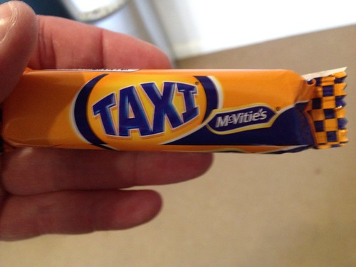 Taxi bar - I thought this biscuit had gone to brand hell?