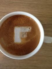 Today's latte, Flipboard.