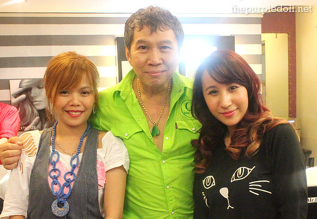 Sumi The Purple Doll with Louis Phillip Kee and Rose Ebol